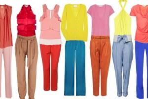Znaš kombinirati barve oblačil?