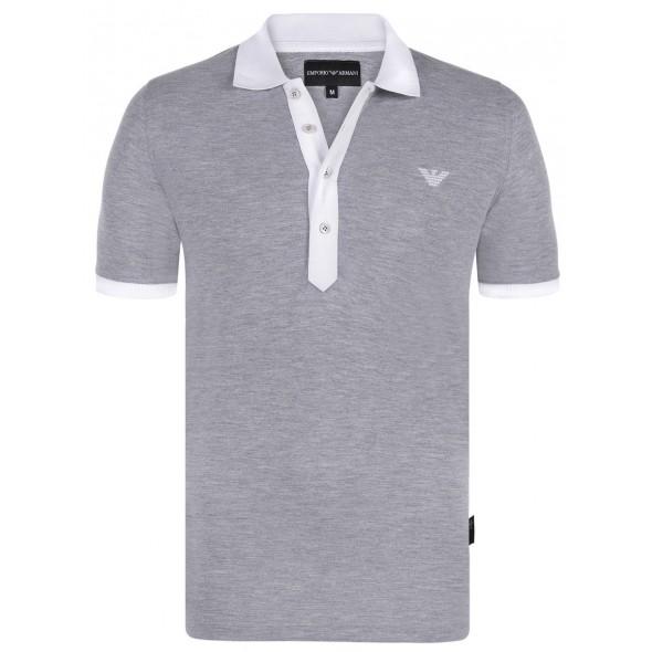 Polo majica EMPORIO ARMANI - siva