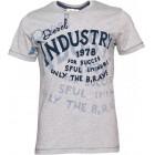 Majica s kratkimi rokavi Diesel - siva s potiskom