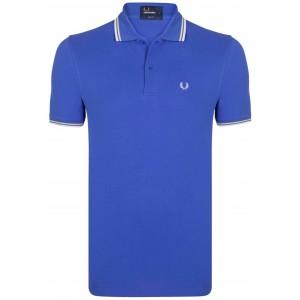 Polo majica FRED PERRY - kraljevsko modra