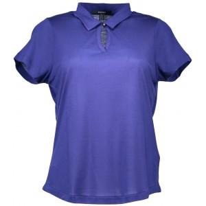 Polo majica Gant, en gumb - modra