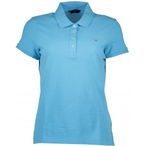 Polo majica Gant - svetlo modra