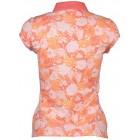 Polo majica Gant - oranžna z vzorcem