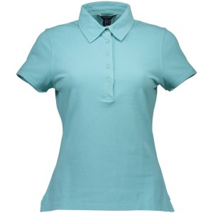 Polo majica Gant 'jeans'- azurno modra