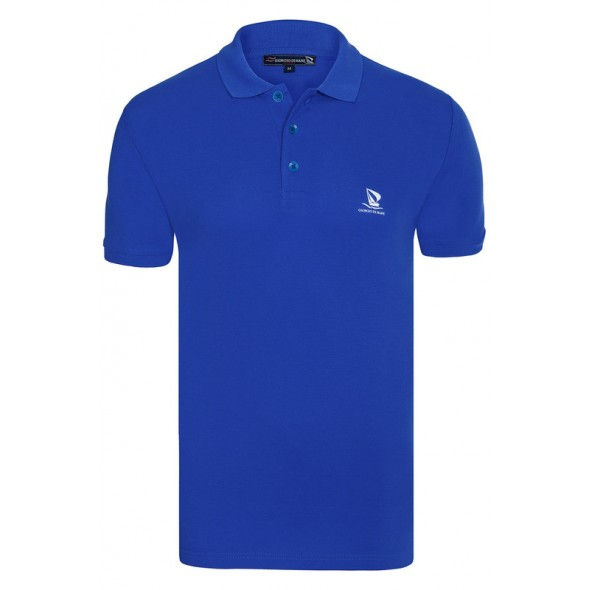 Polo majica Giorgio Di Mare - kraljevsko modra