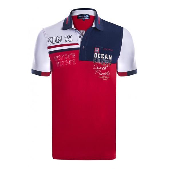 Polo majica Giorgio Di Mare - rdeča