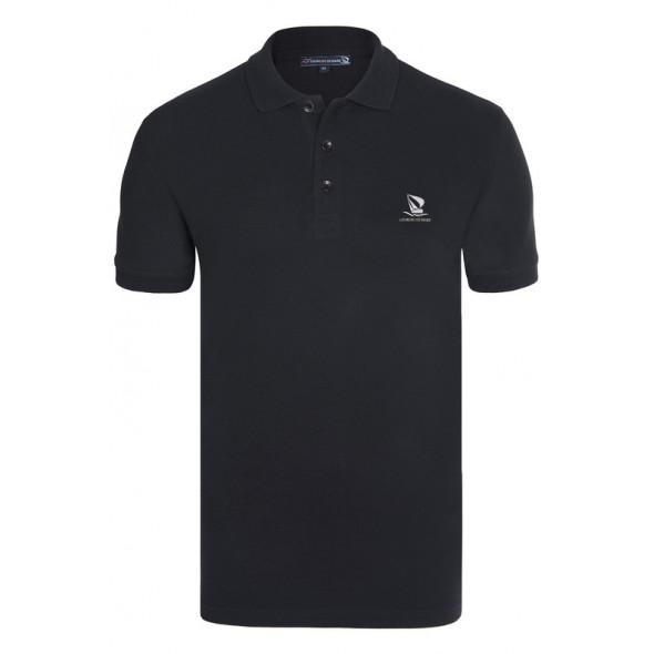 Polo majica Giorgio Di Mare - črna