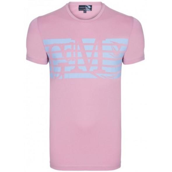 Majica s kratkimi rokavi Giorgio Di Mare - roza
