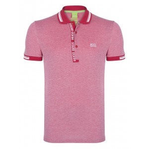 Polo majica Hugo Boss - rdeča
