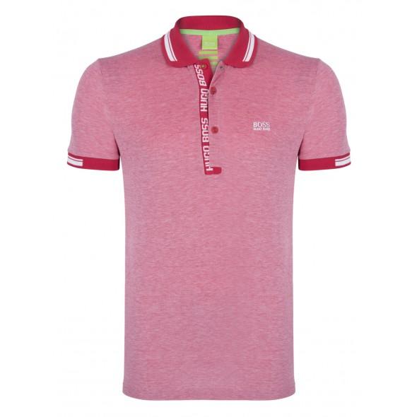 Polo majica Hugo Boss - rdeča