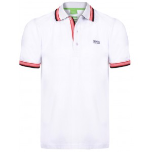 Polo majica Hugo Boss - bela