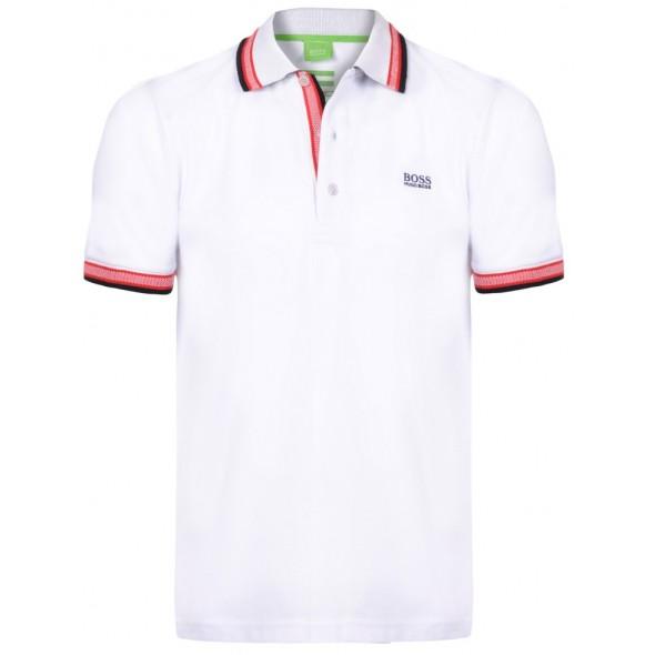 Polo majica Hugo Boss - bela