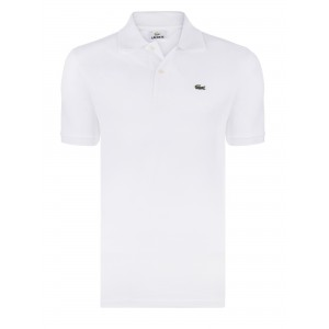 Polo majica LACOSTE - bela