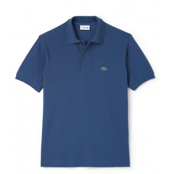 Polo majica LACOSTE - marine modra