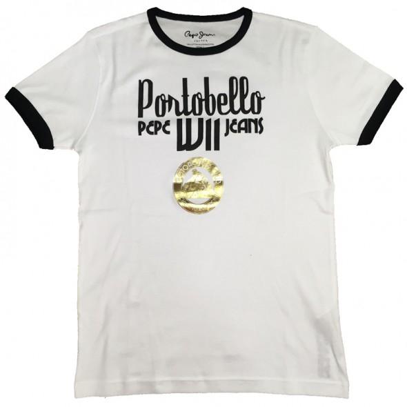 Majica s kratkimi rokavi Pepe Jeans - bela Portobello