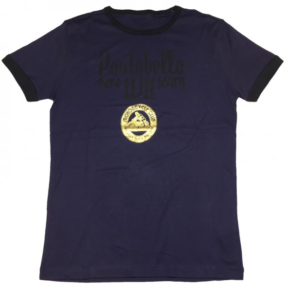 Majica s kratkimi rokavi Pepe Jeans - temno modra Portobello