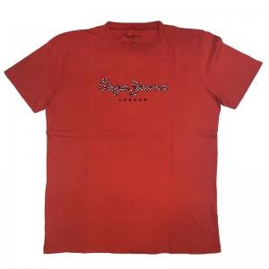Majica s kratkimi rokavi Pepe Jeans - rdeča London