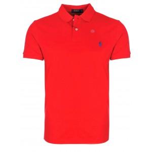 Polo majica Ralph Lauren custom fit - rdeča