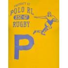 Majica s kratkimi rokavi Ralph Lauren - rumena s potiskom