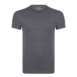 Majica s kratkimi rokavi Ralph Lauren - antracit siva