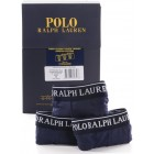 Moške boksarice Polo Ralph Lauren 3pack  - temno modra