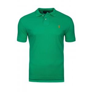 Polo majica Ralph Lauren custom fit - zelena