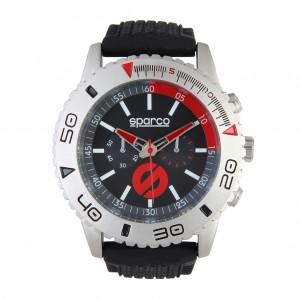 Ročna ura SPARCO, model JACKIE - črna/rdeča