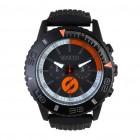Ročna ura SPARCO, model JACKIE - črna/oranžna