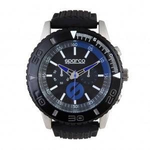 Ročna ura SPARCO, model JACKIE - črna/modra