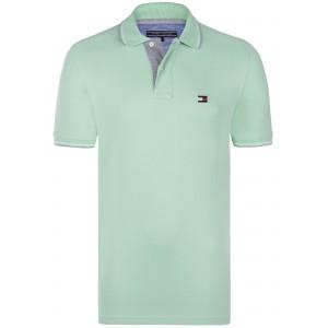 Polo majica Tommy Hilfiger - svetlo zelena
