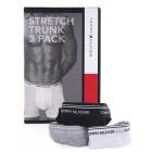 Moške boksarice Tommy Hilfiger 3pack  - črna/bela/siva